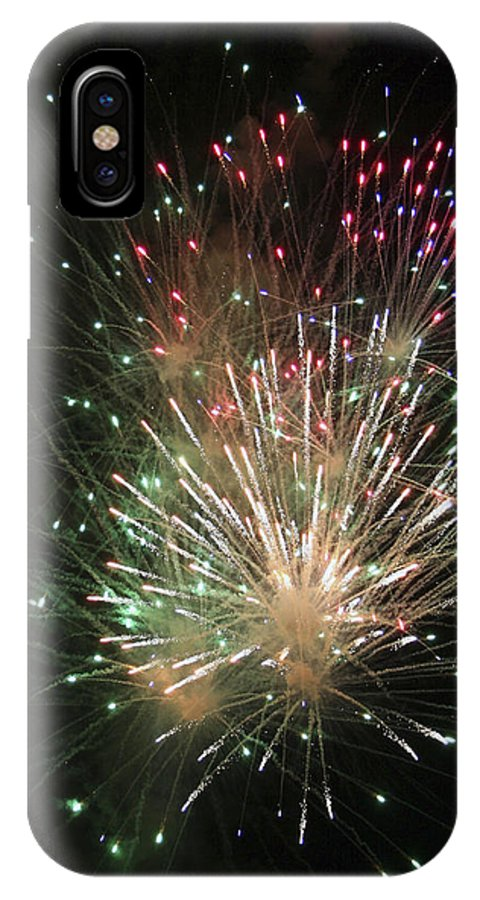Fireworks IPhone Case featuring the photograph Fireworks by Margie Wildblood