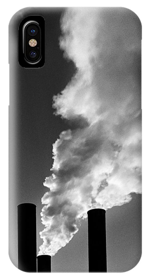 Landscape IPhone X Case featuring the photograph First Smokes by Abhishek Dasgupta