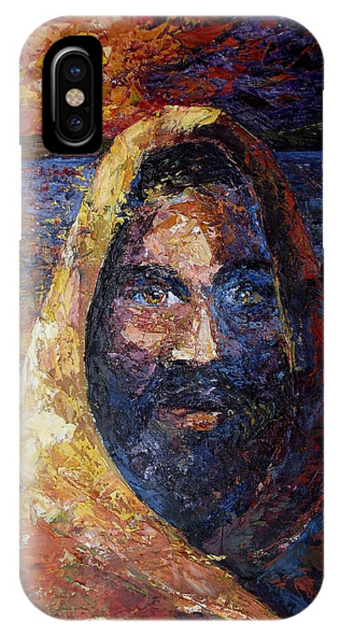 Jesus IPhone X Case featuring the painting Fishers Of Men by Lewis Bowman