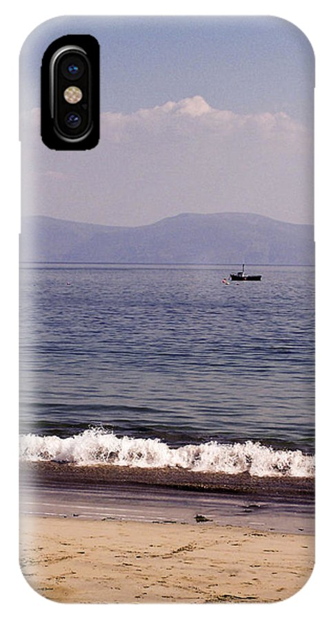 Irish IPhone Case featuring the photograph Fishing Boat On Ventry Harbor Ireland by Teresa Mucha