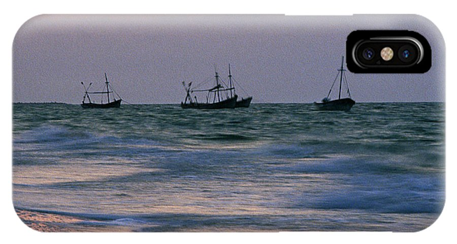 Fishing Boats IPhone Case featuring the photograph Fishing Boats by Michael Mogensen