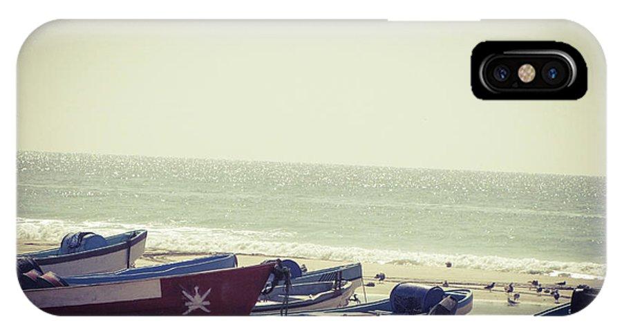 Boats IPhone X / XS Case featuring the photograph Fishing Season by Christina Zizzo
