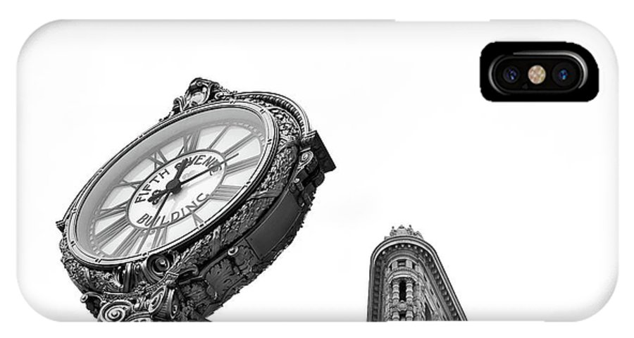 Flat Iron District IPhone X Case featuring the photograph Flat Iron Icons #5 by Marylinda Ramos