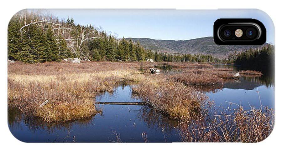Pond IPhone X Case featuring the photograph Flat Mountain Ponds - Sandwich Wilderness White Mountains Nh by Erin Paul Donovan