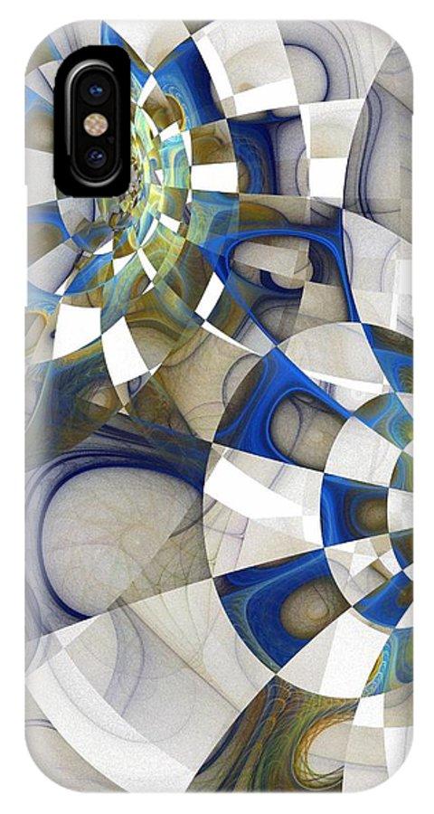 Digital Art IPhone X Case featuring the digital art Flight by Amanda Moore