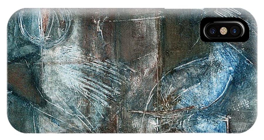 Flight IPhone Case featuring the drawing Flight Passage by Kerryn Madsen- Pietsch
