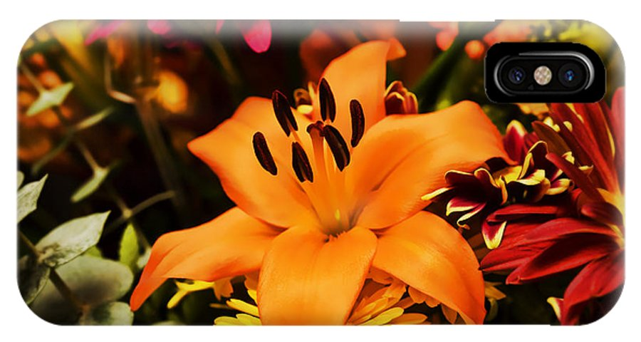Flower IPhone Case featuring the photograph Floral Arrangement by Al Mueller