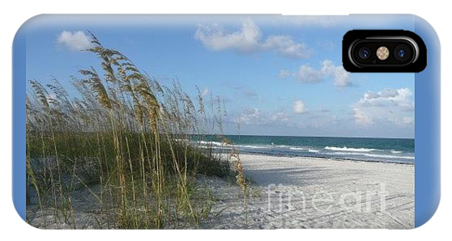 Beach IPhone X Case featuring the photograph Florida Morning by Barb Montanye Meseroll