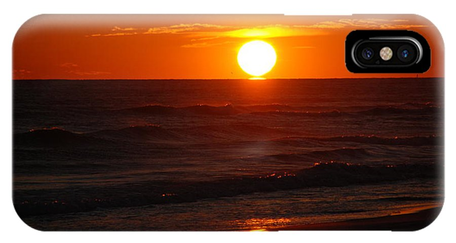 Sunset IPhone X Case featuring the photograph Florida Sunset by Susanne Van Hulst