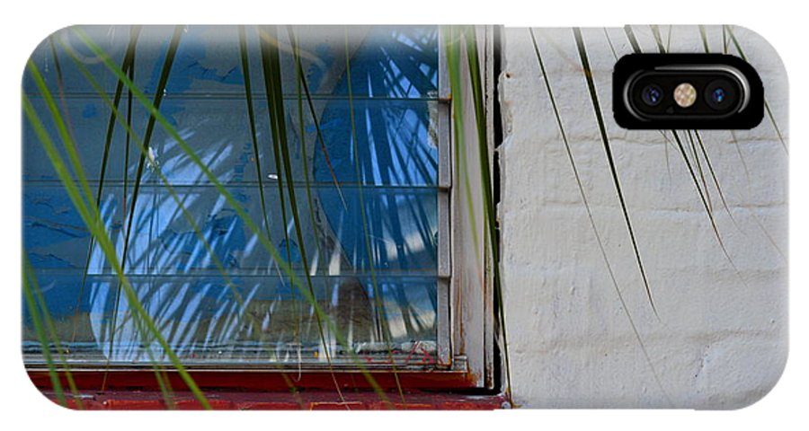 Window IPhone X Case featuring the photograph Florida Window by Jan Prewett