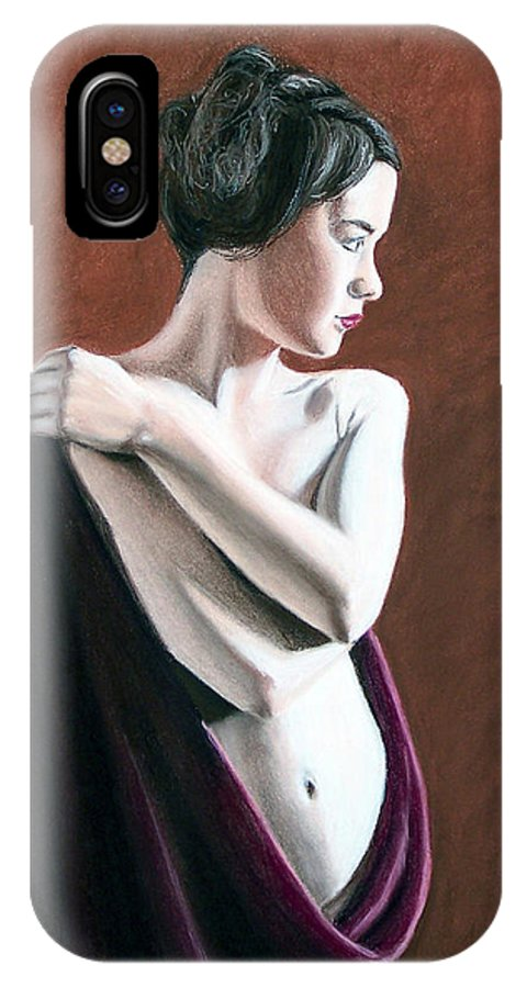 Joe Ogle IPhone Case featuring the painting Flow by Joseph Ogle