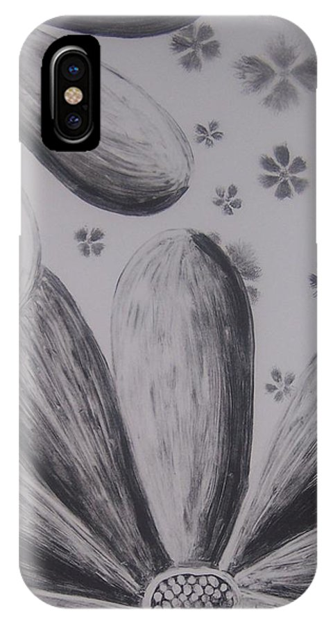 Flower IPhone Case featuring the painting Flower Power by Emily Young
