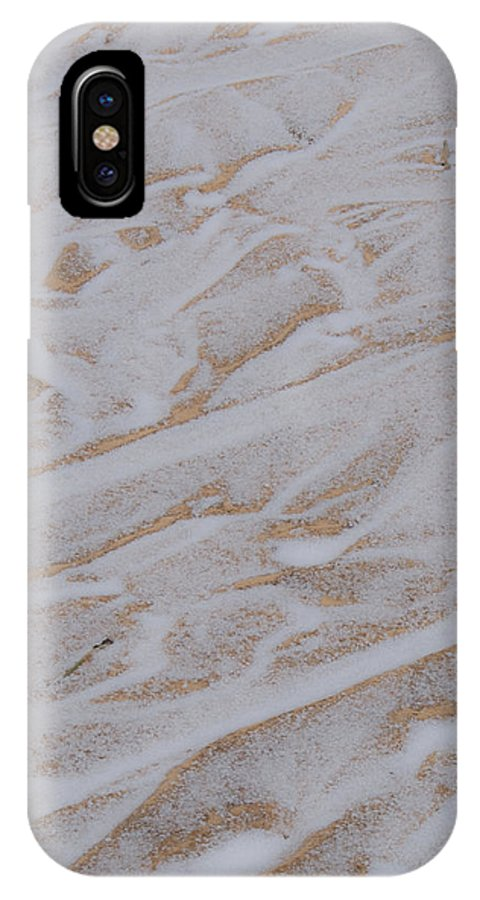 Flows IPhone X Case featuring the photograph Flows by Douglas Barnett