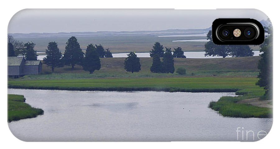 Cape Cod IPhone X Case featuring the photograph Foggy Cape Seashore by Sharon Eng