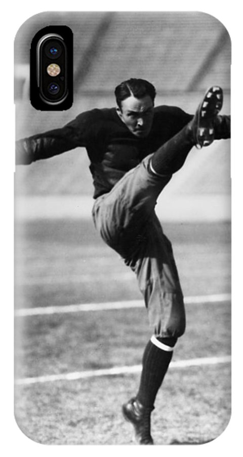 20th Century IPhone X Case featuring the photograph Football, 20th Century by Granger