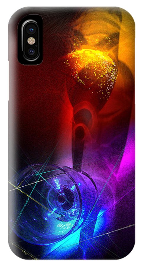 Fantasy IPhone Case featuring the photograph Foreplay by Miki De Goodaboom