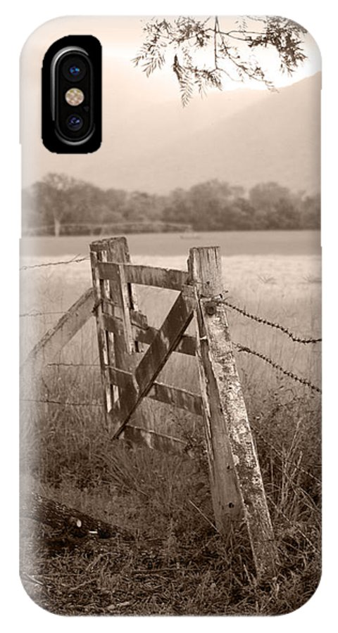 Landscapes IPhone Case featuring the photograph Forgotten Fields 2 by Holly Kempe
