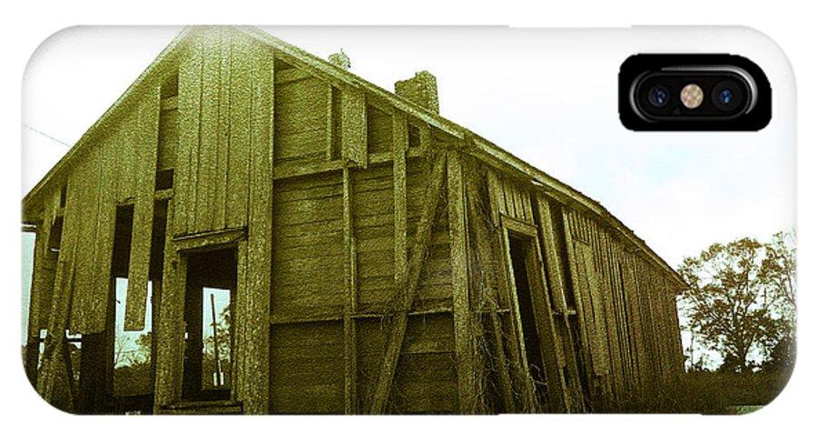 Lousiana IPhone X Case featuring the photograph Forgotten Home by Leigh Ann Raab
