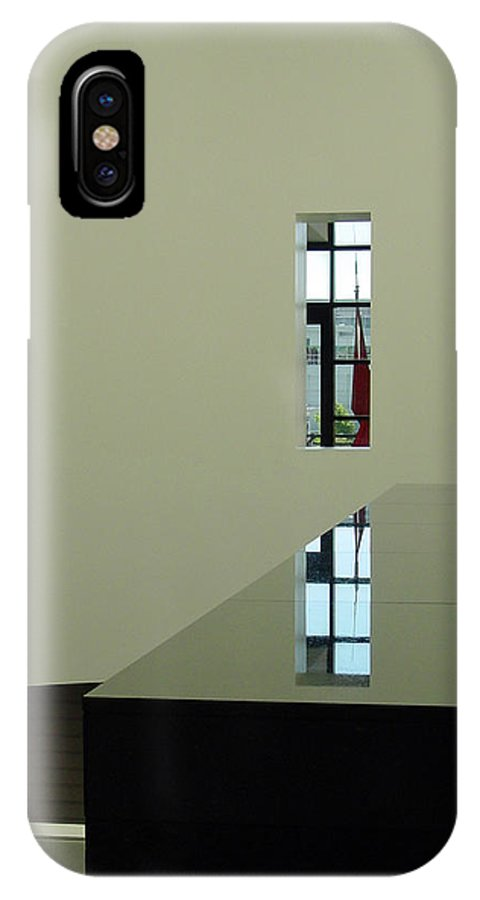 San Francisco IPhone X Case featuring the photograph Form And Function II by Suzanne Gaff