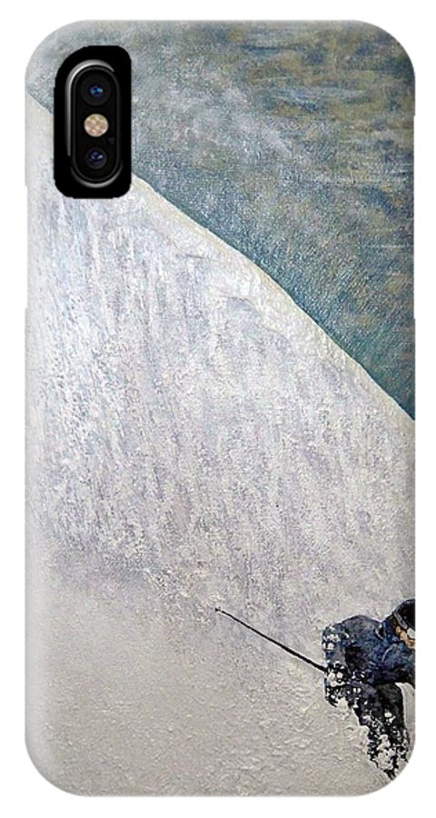 Landscape IPhone Case featuring the painting Form by Michael Cuozzo