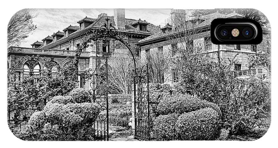 Waterford IPhone X / XS Case featuring the photograph Formal Gardens by Joe Geraci