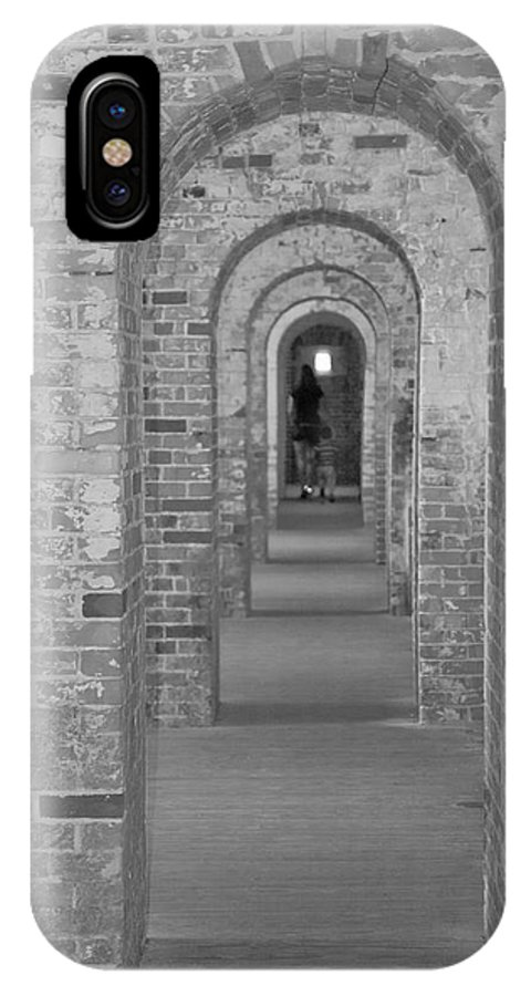 Harkers Island IPhone X Case featuring the photograph Fort Macon Going Home by Betsy Knapp