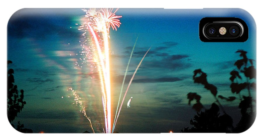 Landscape IPhone Case featuring the photograph Fourth Of July by Steve Karol