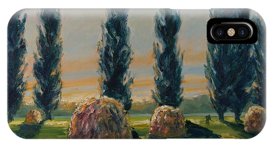 Trees IPhone Case featuring the painting France Iv by Rick Nederlof