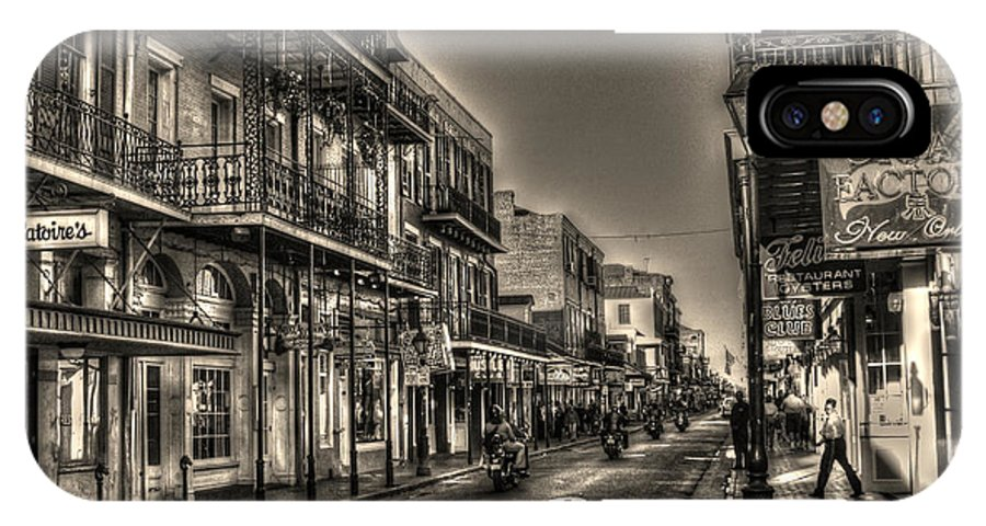 French Quarter IPhone X / XS Case featuring the photograph French Quarter Ride by Greg and Chrystal Mimbs