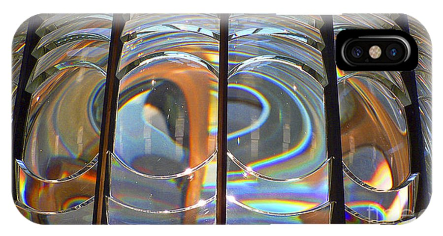 Lighthouse IPhone Case featuring the photograph Fresnel Lens by Larry Keahey