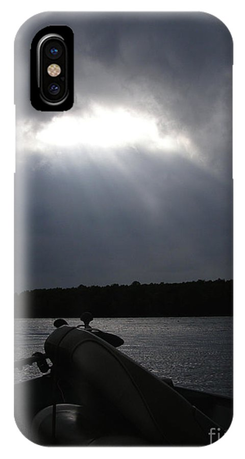 Fish IPhone X Case featuring the photograph Friday Night Fish Fry Reservations by Angie Rea