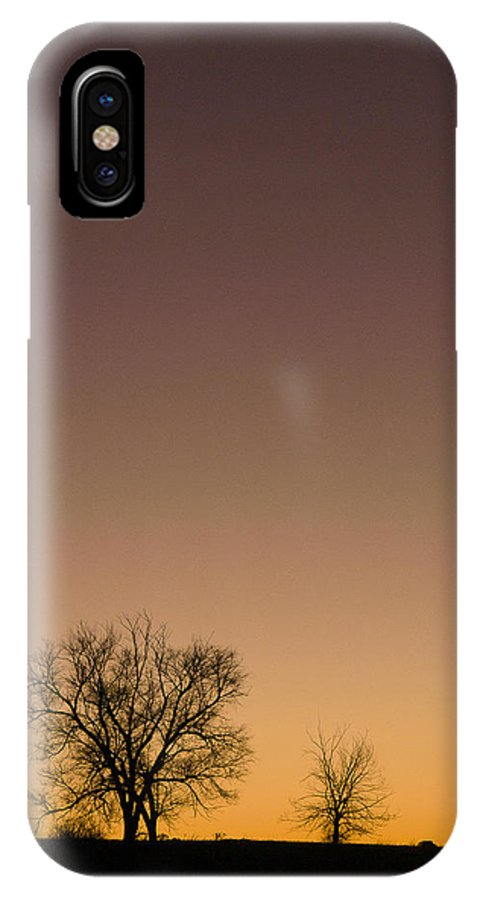 Fine Art IPhone X / XS Case featuring the photograph Friends Awaiting Sunrise by Monte Stevens
