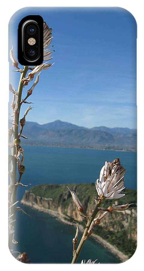 Nafplion IPhone X Case featuring the photograph From Atop Nafplion by Daniel Taylor