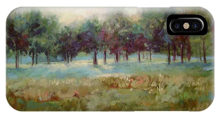 Country Scenes IPhone Case featuring the painting From The Other Side by Ginger Concepcion