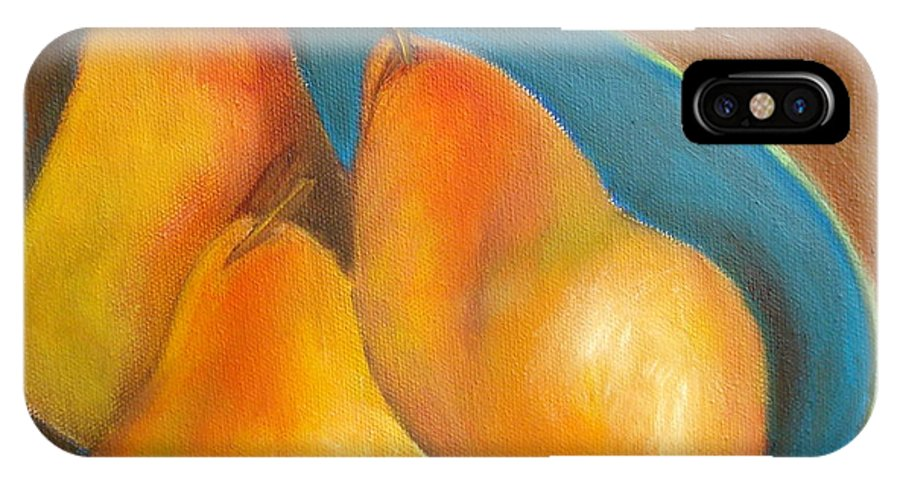 Fruit IPhone X Case featuring the painting Fruit Of The Spirit--sold by Susan Dehlinger