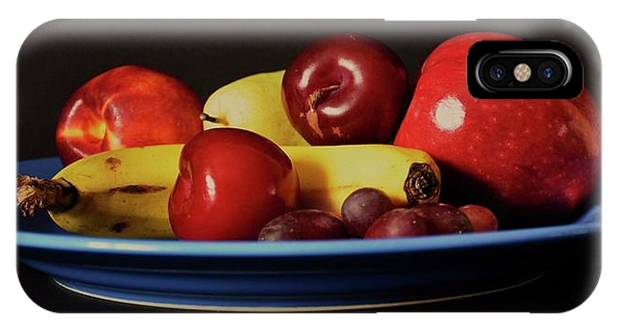 Fruit Shoot IPhone X Case featuring the photograph Fruit Shoot by Martina Fagan