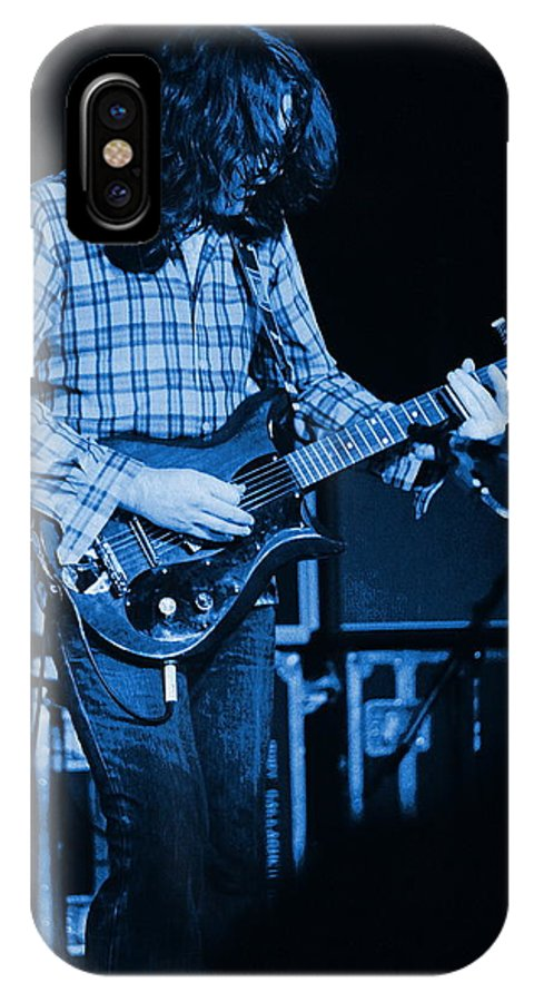 Rory Gallagher IPhone X Case featuring the photograph Fuel To The Blue Fire by Ben Upham