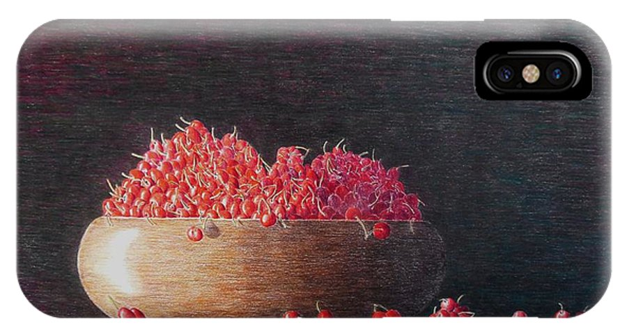 Still Life IPhone Case featuring the painting Full Life by A Robert Malcom