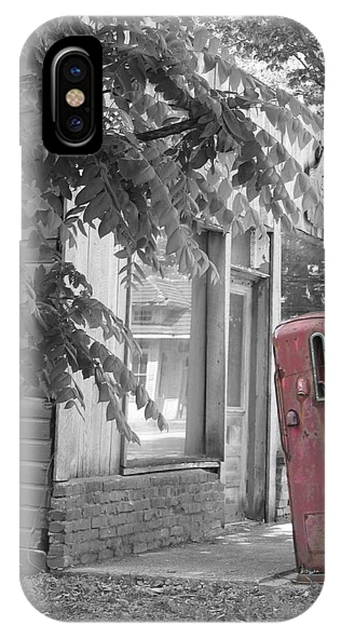 Rural IPhone X Case featuring the photograph Funk's Grove IV by Dylan Punke