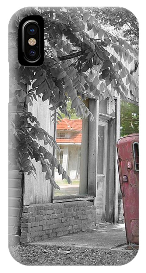 Rural IPhone X Case featuring the photograph Funk's Grove V by Dylan Punke