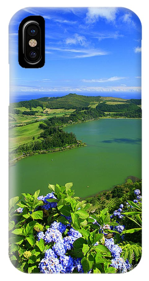 Azores IPhone Case featuring the photograph Furnas Lake by Gaspar Avila