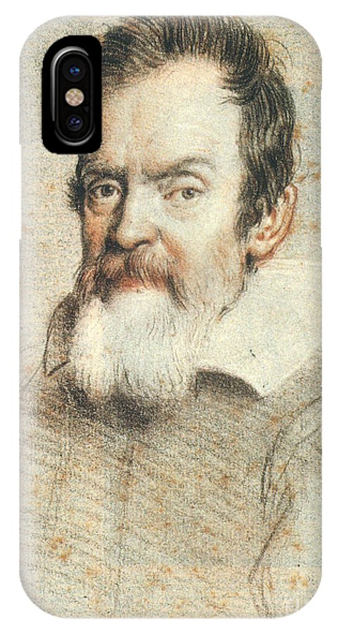 1624 IPhone X Case featuring the photograph Galileo Galilei by Granger