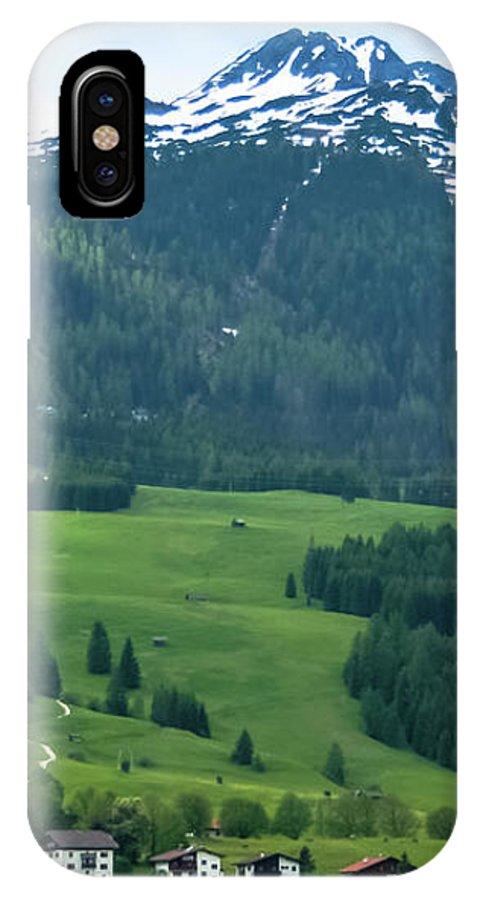 Garmisch-partenkirchen IPhone X Case featuring the photograph Garmisch-partenkirchen Germany by Amy Sorvillo