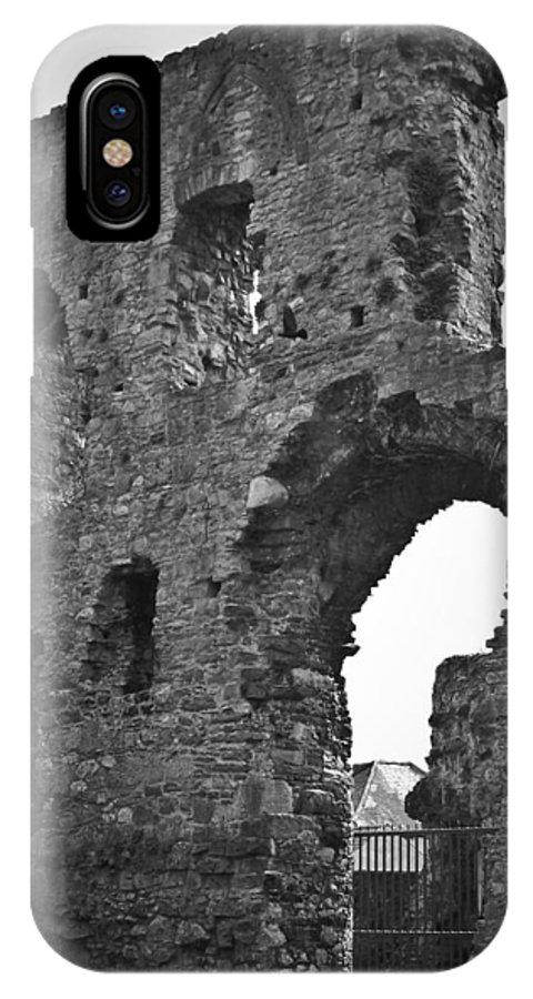 Ireland IPhone X Case featuring the photograph Gatehouse At Nenagh Castle Ireland by Teresa Mucha