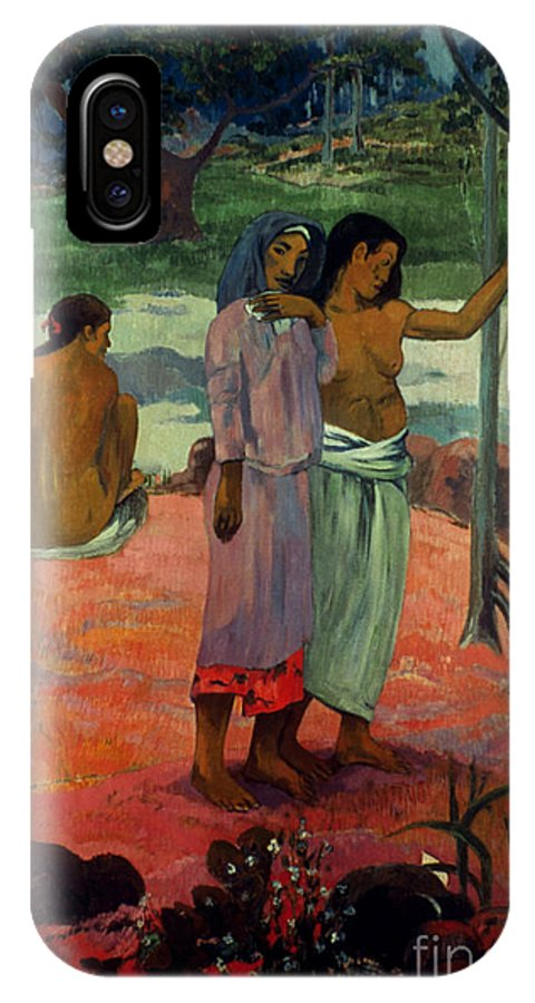 1902 IPhone X Case featuring the photograph Gauguin: Call, 1902 by Granger
