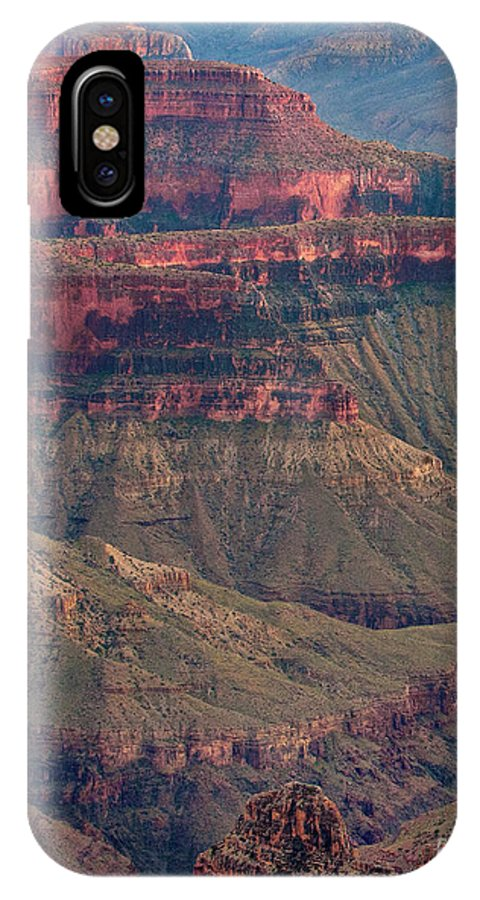 Dave Welling IPhone X Case featuring the photograph Geological Formations North Rim Grand Canyon National Park Arizona by Dave Welling