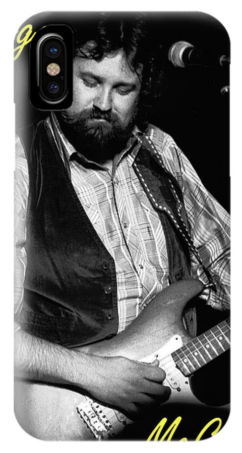 Marshall Tucker IPhone X Case featuring the photograph George Mccorkle 2 by Ben Upham