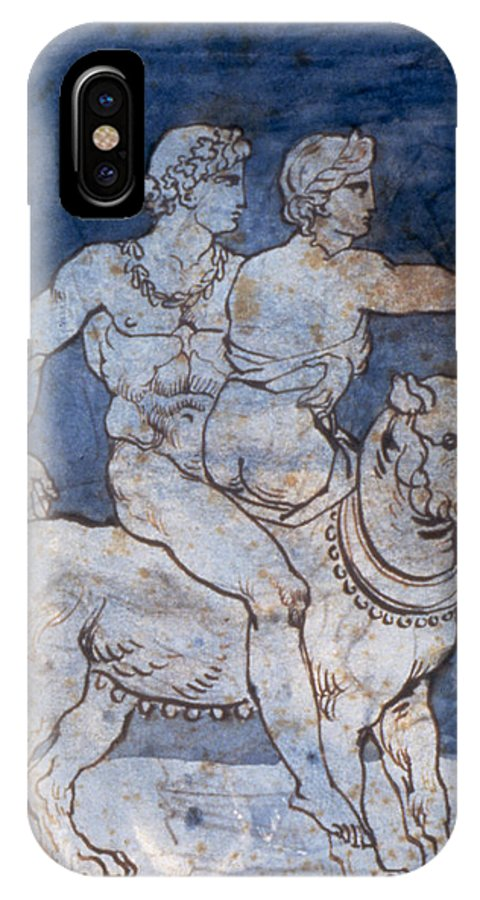 1820s IPhone X Case featuring the photograph Gericault: Bacchus & Ariadne by Granger