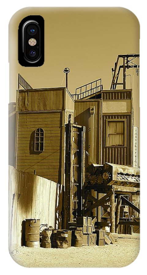 IPhone X Case featuring the photograph Ghost Town by Katy Granger