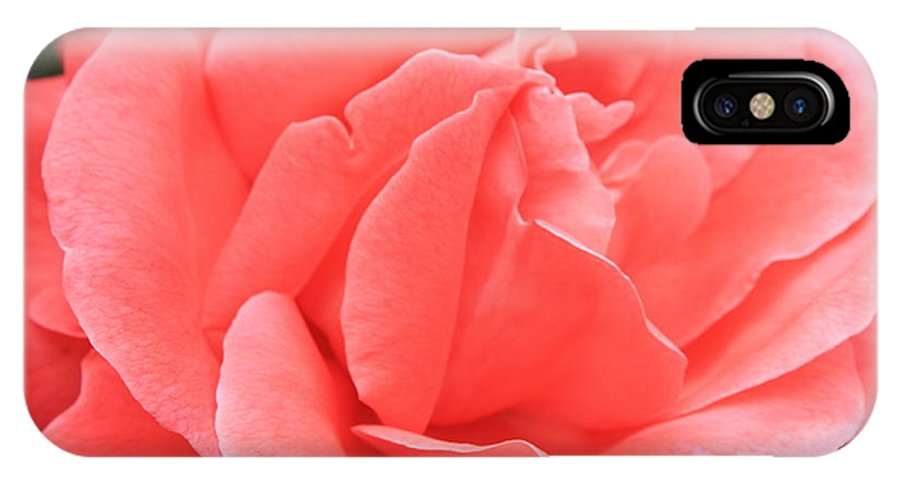 Rose IPhone X Case featuring the photograph Give God The Glory by Carol Groenen